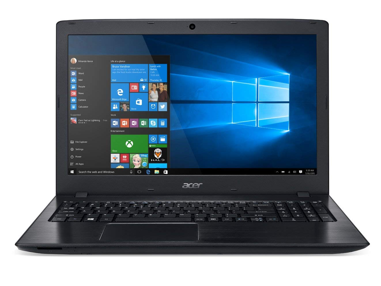 Acer Aspire E15 - Laptops with Long Battery Life