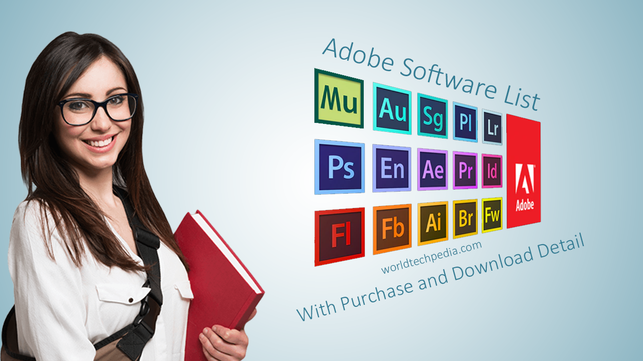 Types of Adobe Software