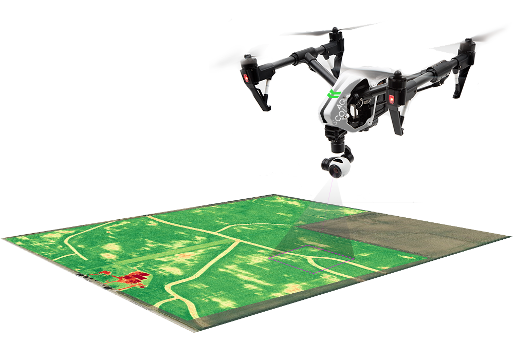 Mapping and Surveying by Drones - Agricultural Drone