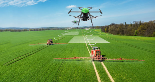 Precision Agriculture via Drone - Agricultural Drone