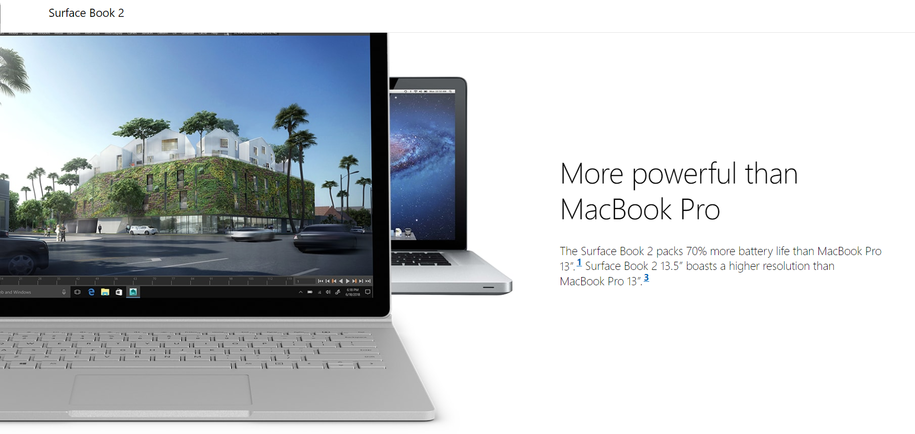 Microsoft Surface Book 2 - Laptops with Long Battery Life