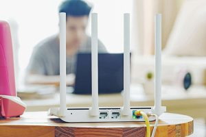Reposition your router