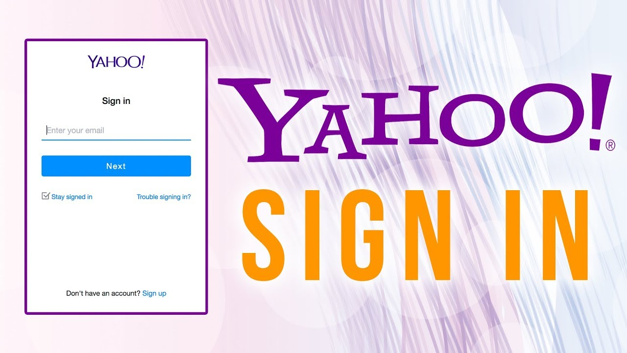 Yahoo Mail Login, Sign Up & Password Recovery