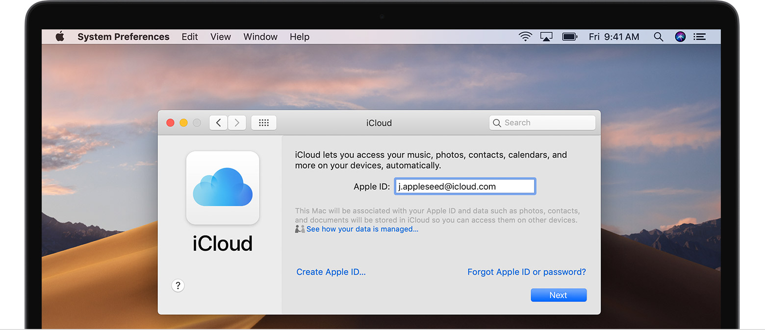 create Apple ID