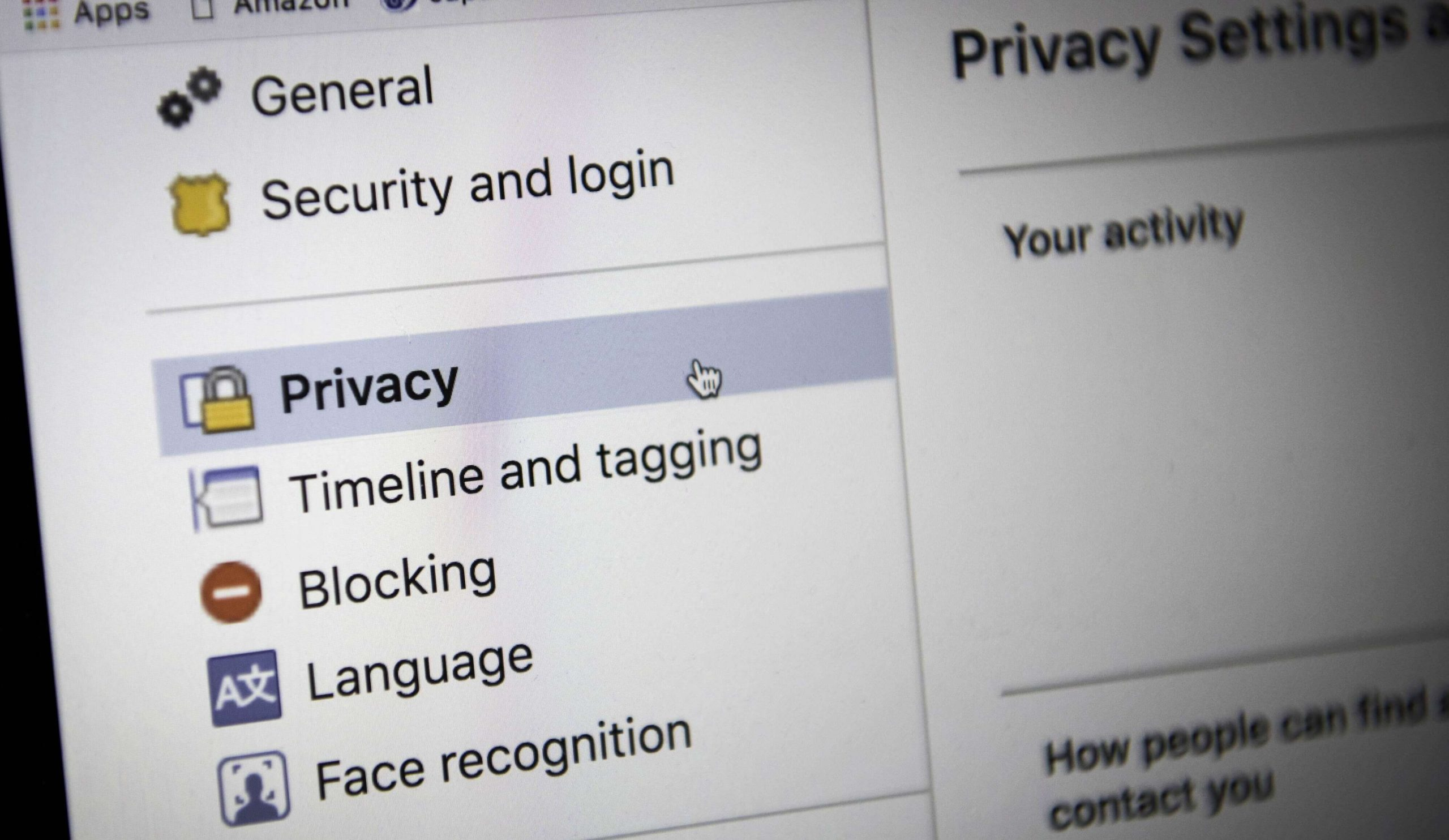 facebook privacy for you